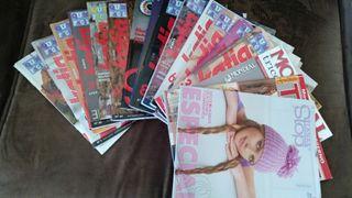Lote Revistas de punto