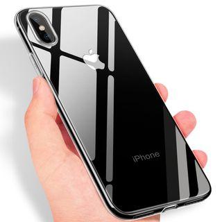 Funda silicona transparente Iphone X 10 NUEVA