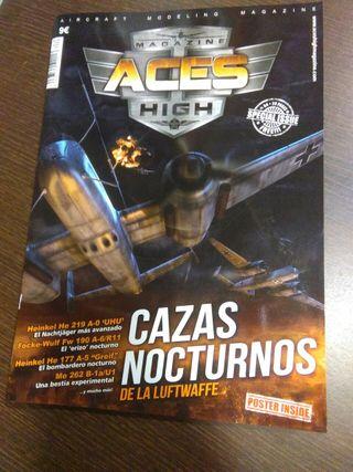 revistas maquetismo aviación