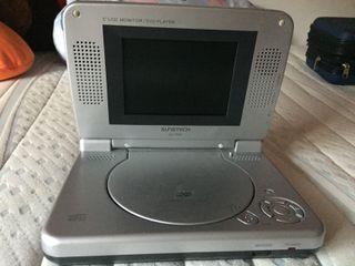 Reproductor DVD portátil SUNSTECH DL-P50
