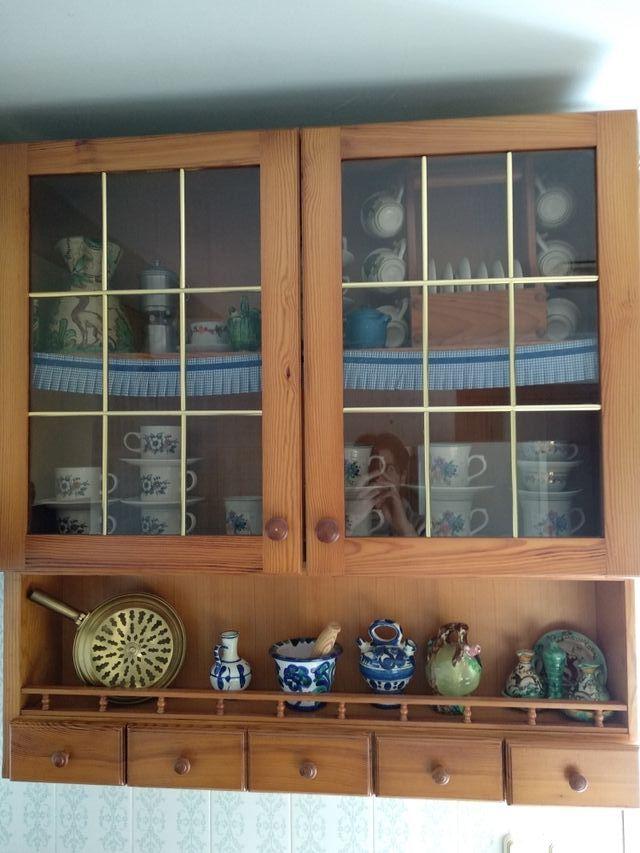 Mueble cocina madera de segunda mano por 30 € en Cartagena en WALLAPOP