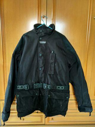 chaqueta y pantalon impermeable moto axo