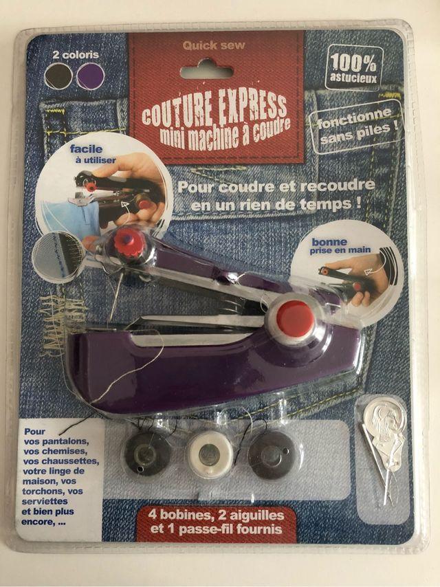 Mini machine a coudre