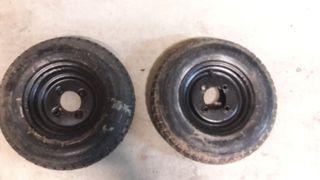 rueda remolque + repuesto