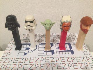 Dispensador caramelos PEZ. Star Wars.