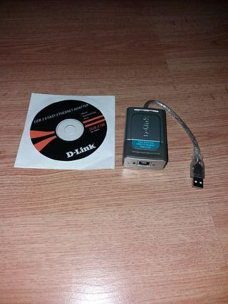 dlink dub100 adaptador usb a ethernet