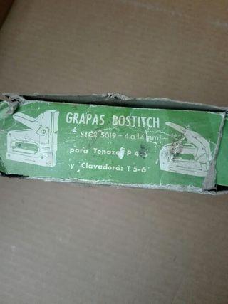 Grapas Bostitch para tenazas p 4 -6 de 4 a 14mm