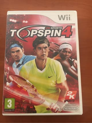 Wii Top Spin