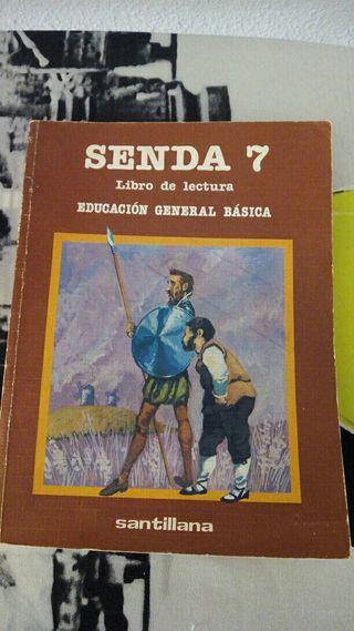 Libro escolar senda 7 egb