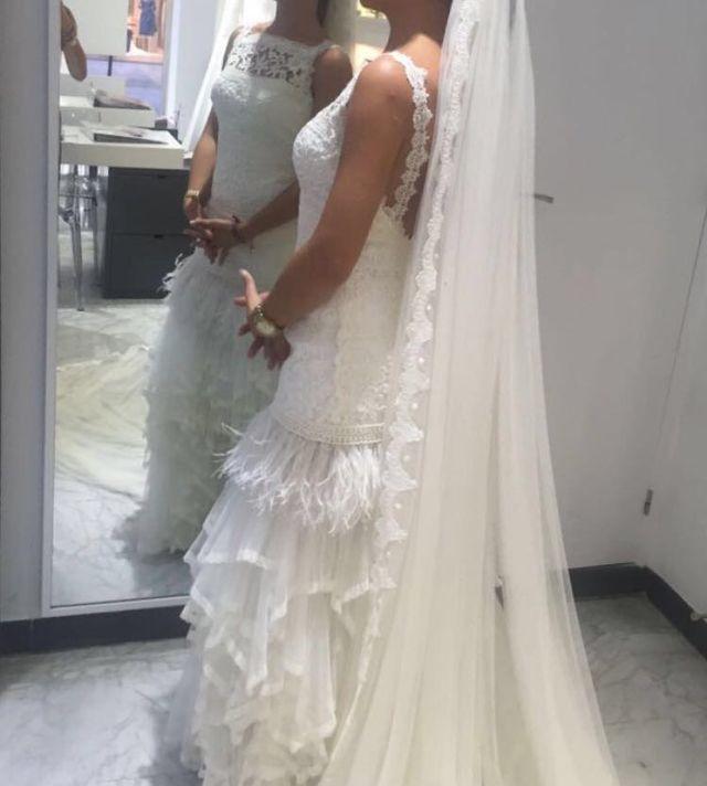 vestido de novia valerio luna de segunda mano por 600 € en madrid en