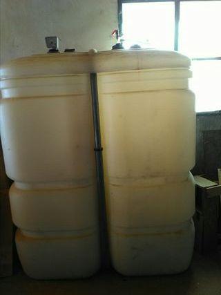 depósito de gasoi para la calefacción