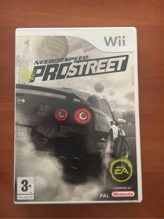 Wii Need For Sped ProStreet