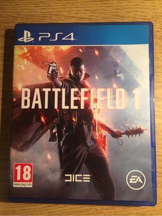 Battlefied 1 ps4