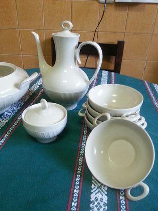 Juego de recipientes ceramicos cocina.