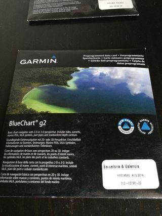 Garmin BLUECHART G2 BARCELONA - VALENCIA Sin usar