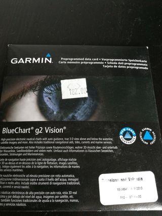 Garmin Bluechart G2 Vision Barcelona and Valencia