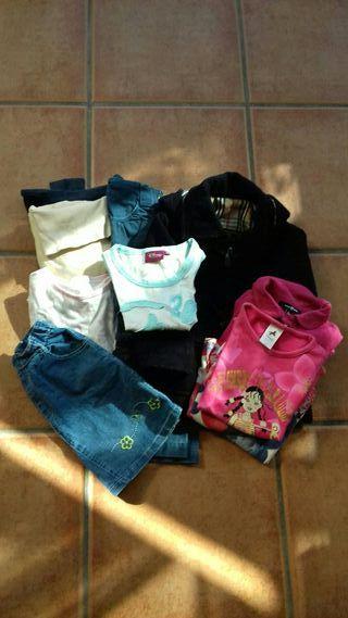 Lote de ropa niña talla 2-3