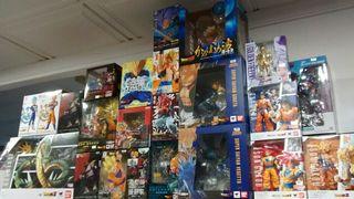 Figuras Dragon Ball, One Piece, Saint Seiya...