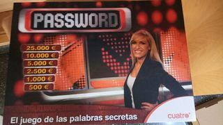 juego mesa password
