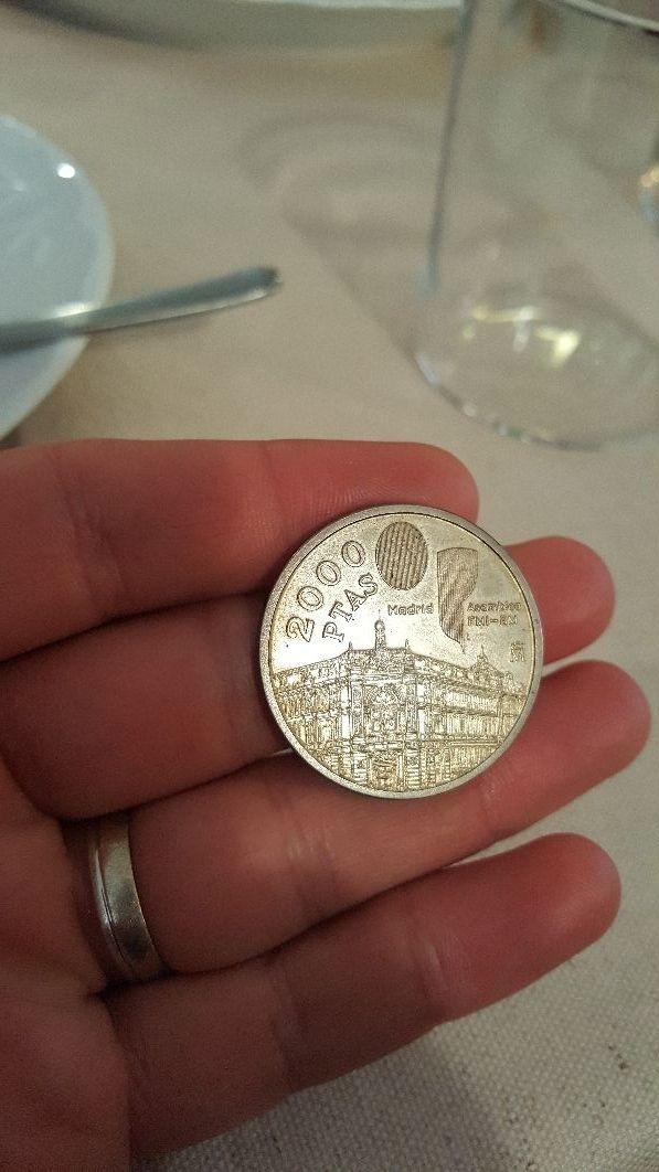 moneda de plata
