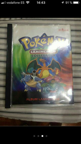 Coleccion Cromos Pokemon