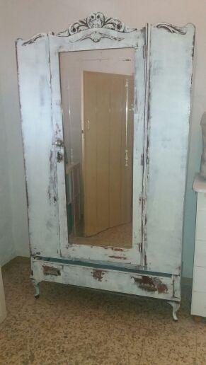 armario vintage restaurado