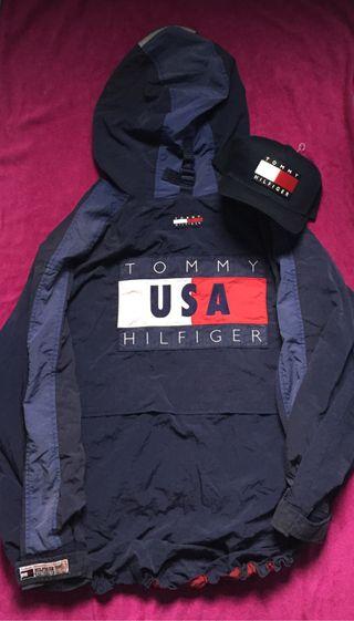 Segunda Tommy Xl Mano 195 De Hilfiger Chaqueta Por wI6dAA