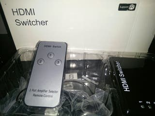 Switcher HDMI 3 entradas
