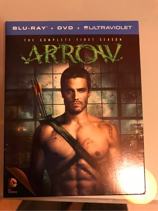 Arrow Temporada 1 Blu-ray