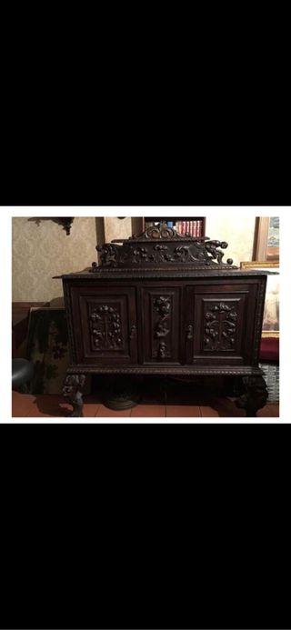 Muebles antiguos madera de haya de segunda mano por - Muebles antiguos madrid ...