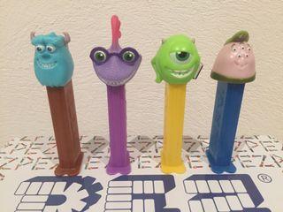 Dispensador caramelos PEZ. Monsters University.