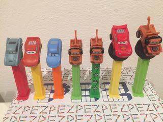 Dispensador caramelos PEZ. Disney World of Cars.