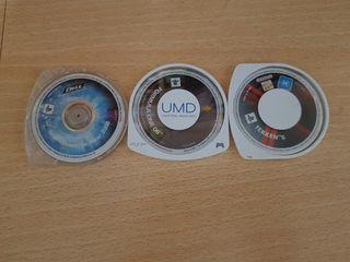 3 juegos PSP