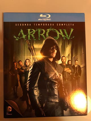 Arrow Temporada 2 blu-ray