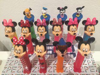 Dispensador caramelos PEZ. Mickey & Minnie