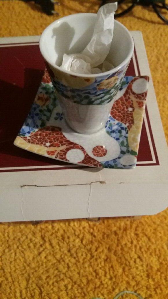 tazas de cafe sin estrenar.