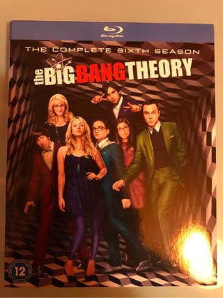 The Big Bang Theory Temporada 6 blu-ray
