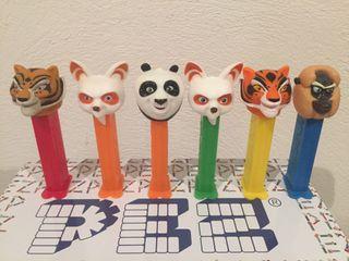 Dispensador caramelos PEZ. Kung fu Panda.