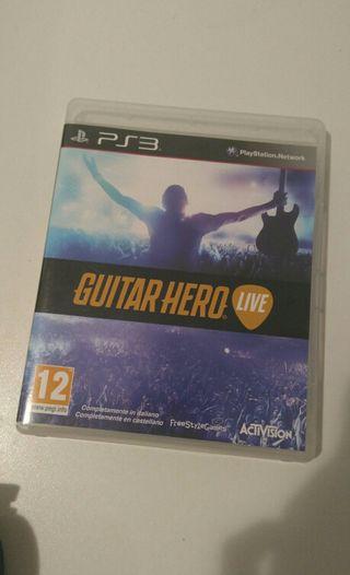 Guitar Hero Ps3 con Guitarra