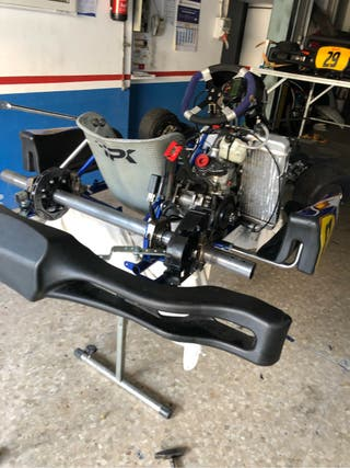 Solo Motor kart rotax Max 125