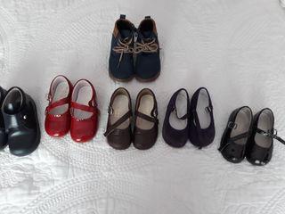 zapatos niña lote 20 al 23