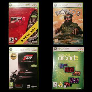 16 Juegos XBOX 360