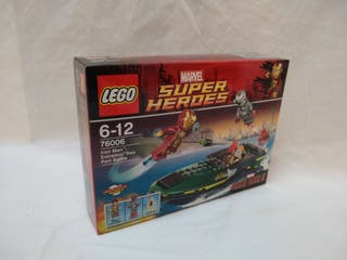 LEGO 76006 - Iron Man: Extremis Sea Port Battle