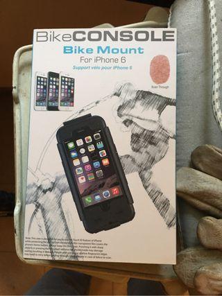 Soporte bici iphone 6