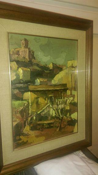 Cuadro lienzo Joan Sallent