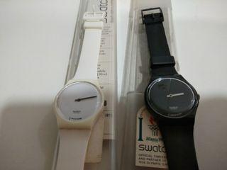 Otro Y De Min Hora El Uno Los Mano Da Relojes Segunda 2 Swatch La Ee2IWH9YbD
