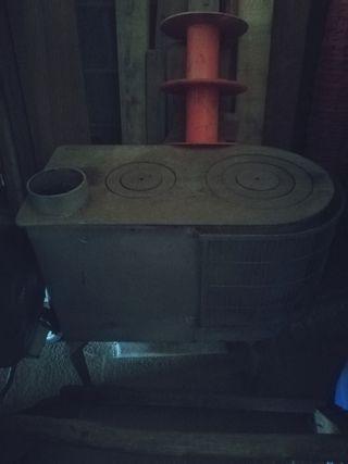 Estufa ferro colat amb forn