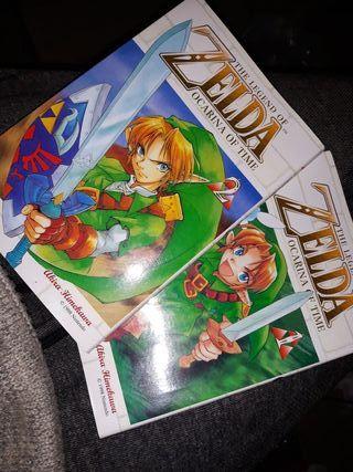 comics manga de zelda