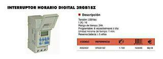 Interruptor horario digital