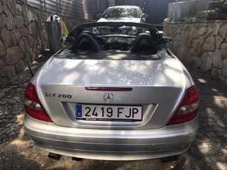 Mercedes-Benz SLK 200 DESCAPOTABLE AUTOMÁTICO